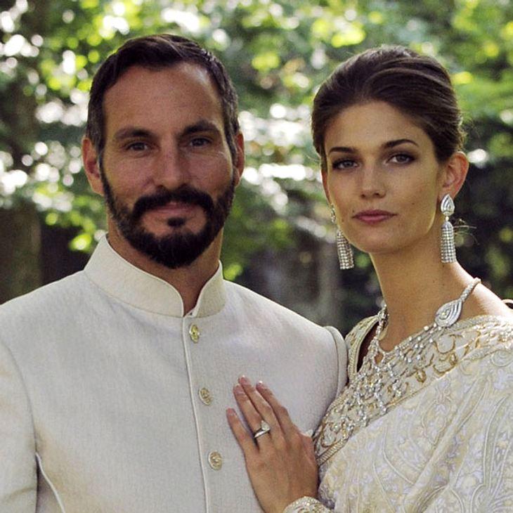 Rahim Aga Khan und Salwa Aga Khan