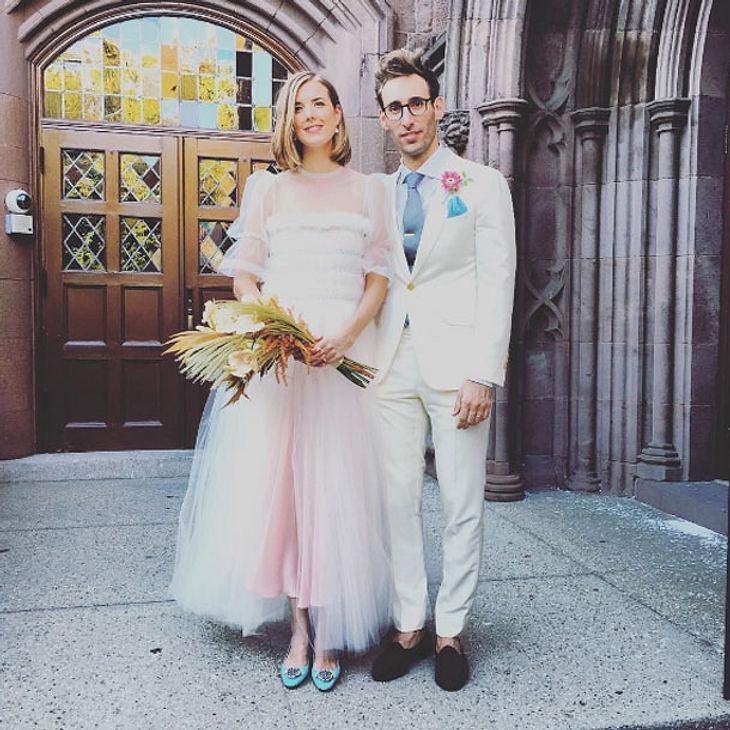 Agyness Deyn hat geheiratet