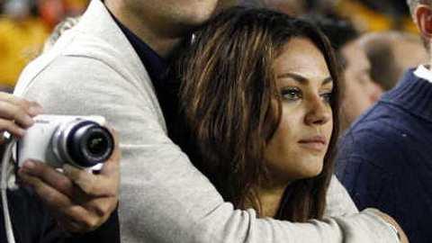 """Ashton Kutcher & Mila Kunis: Dehalb nannten sie ihr Baby """"Wyatt"""" - Foto: gettyimages"""