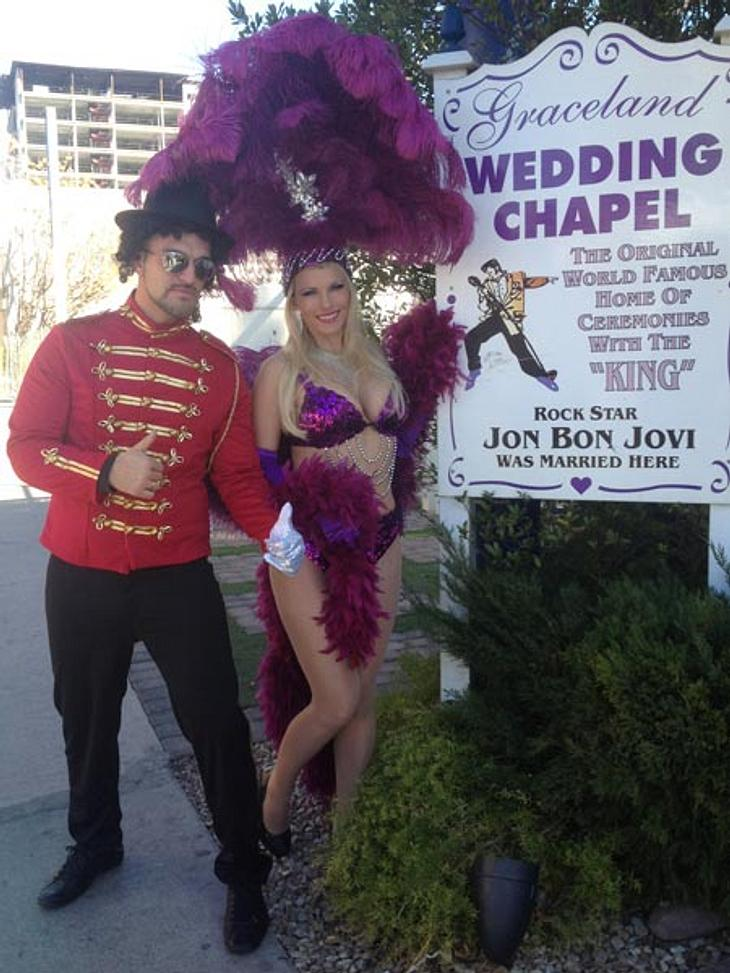 Aische Pervers hat in Las Vegas geheiratet