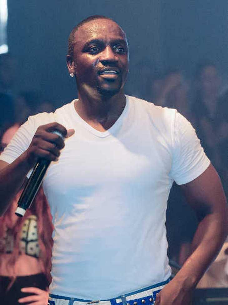 Akon bedankte sich bei seinen Fans.