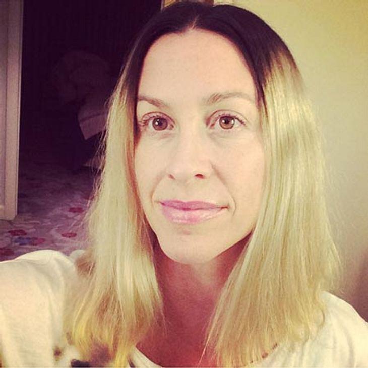 Alanis Morissette hat eine neue Haarfarbe