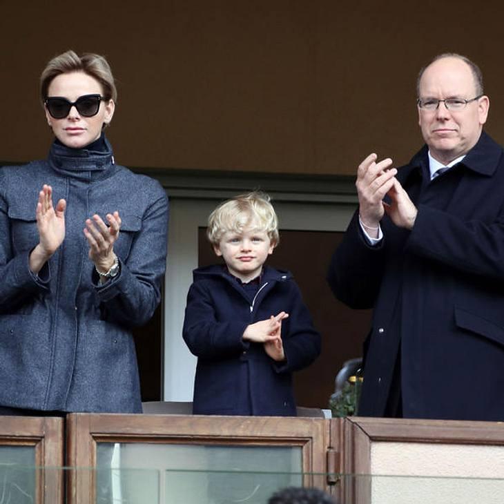 Fürstin Charlene lässt ihre Kinder zurück