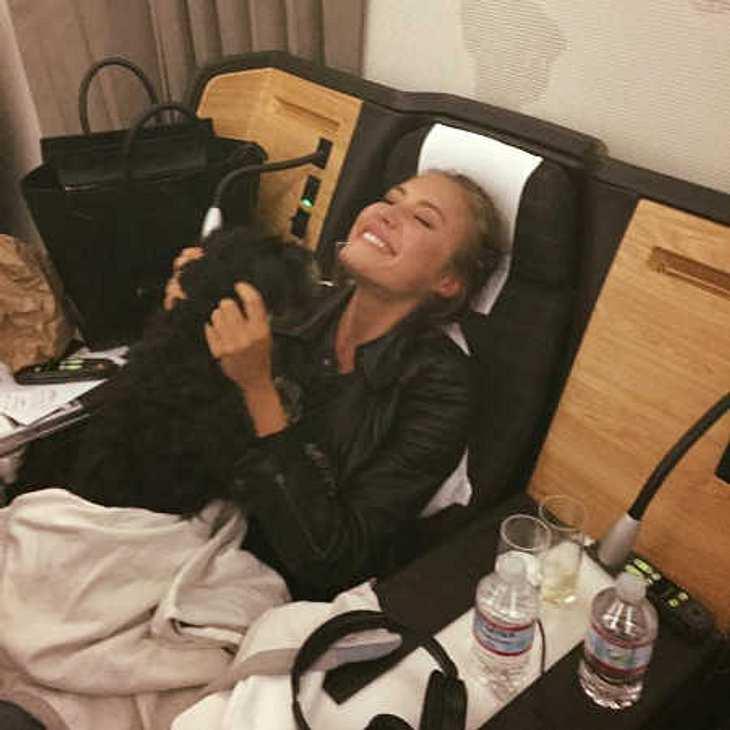 Alena Gerber: Nach 4 Monaten in L.A. besucht sie endlich ihre Familie