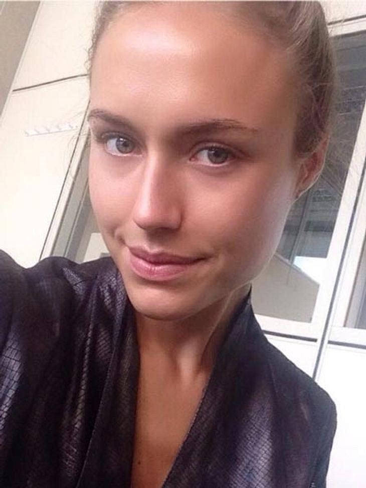 Alena Gerber zeigt sich ungeschminkt