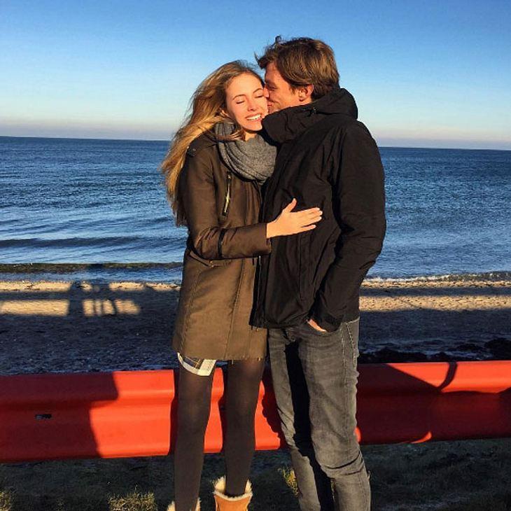 Alena Gerber hat sich verlobt