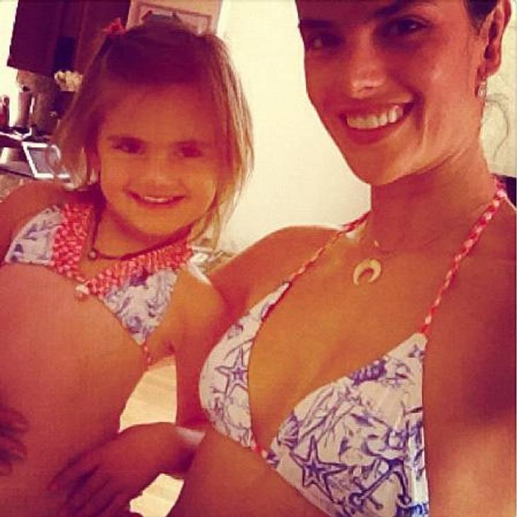 Alessandra Ambrosio: Kuschel-Stunde mit ihren Kindern!