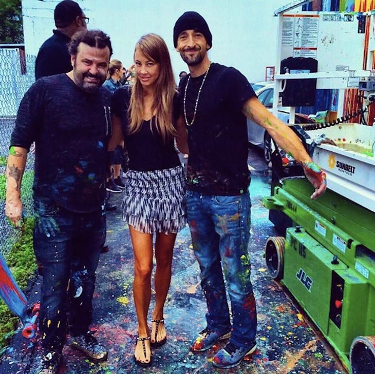 Alessandra Meyer-Wölden: Fan-Bild mit Adrien Brody