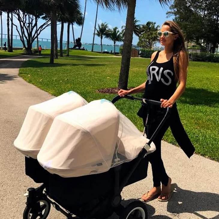 Alessandra Meyer-Wölden: Strahlend schön nach Zwillingsgeburt