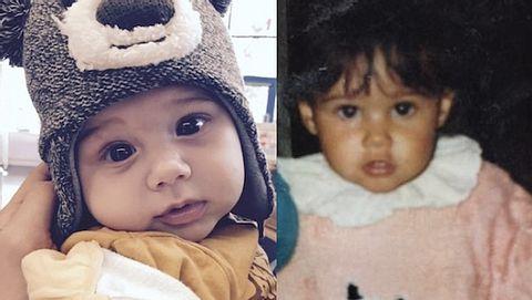 Sarah Engels: So ähnlich sah sie ihrem Alessio als Baby - Foto: Facebook / Sarah Engels
