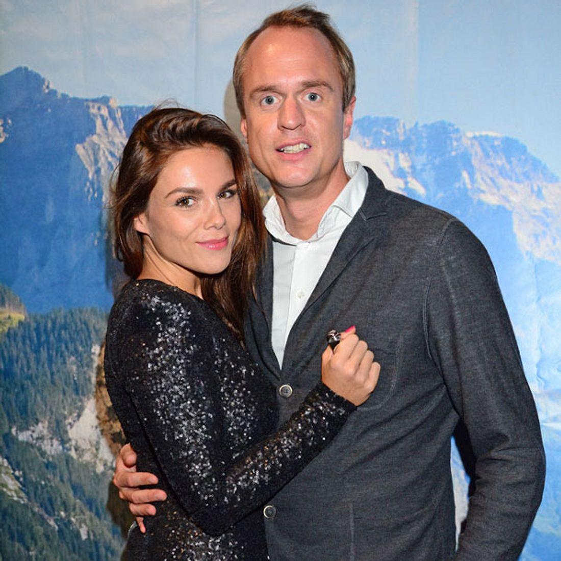 Alexander Posth und Angelina arbeiten am Nachwuchs