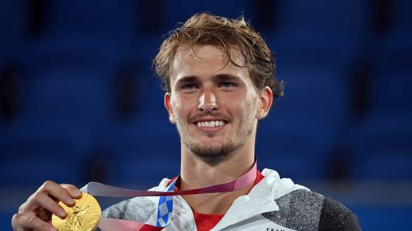 Alexander Zverev holt Gold bei Olympia im Tennis - Foto: Imago / Sven Simon