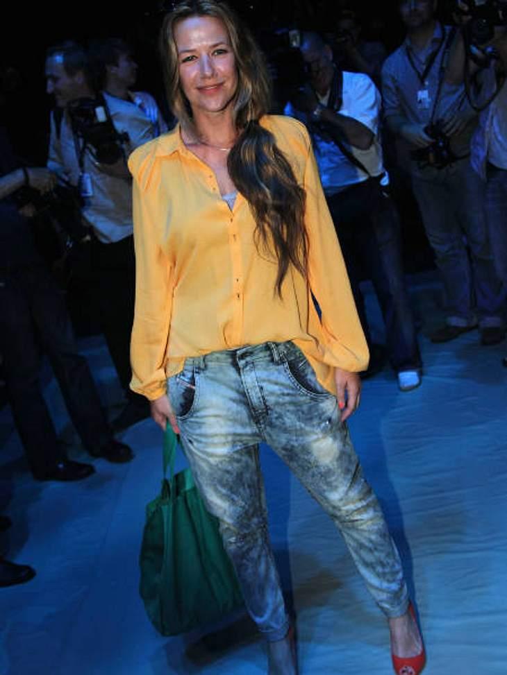 """Fashion Week Berlin... und Alexandra Neldel bei der """"Mongrels in Common""""-Show."""
