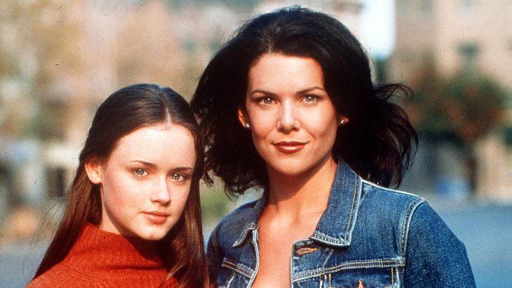 """Alexis Bledel als Rory und Lauren Graham als Lorlai in """"Gilmore Girls"""""""