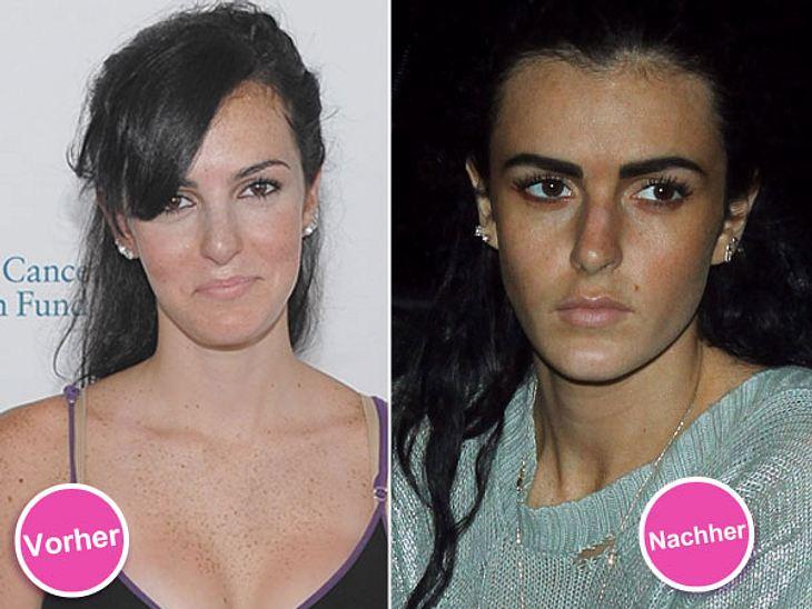 Die Beauty-Sünden der StarsDer Schnippel-Wahn scheint in der Familie zu liegen: Auch Lindsays kleine Schwester Ali Lohan (18) hat offenbar den ein oder anderen Eingriff hinter sich.Lippen, Wangenknochen und Nase sehen auf neueren Fotos des