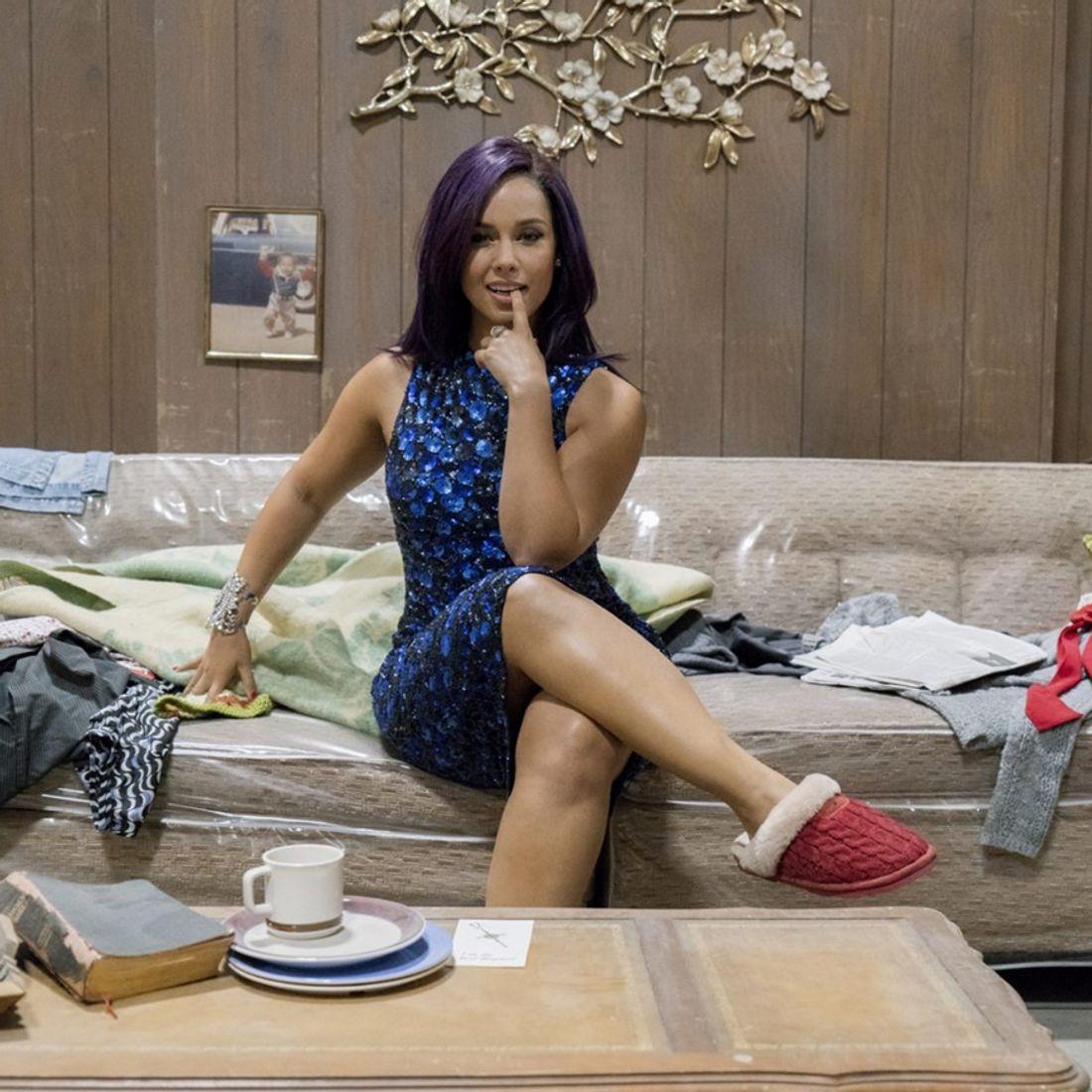 Alicia Keys hat eine neue Haarfarbe