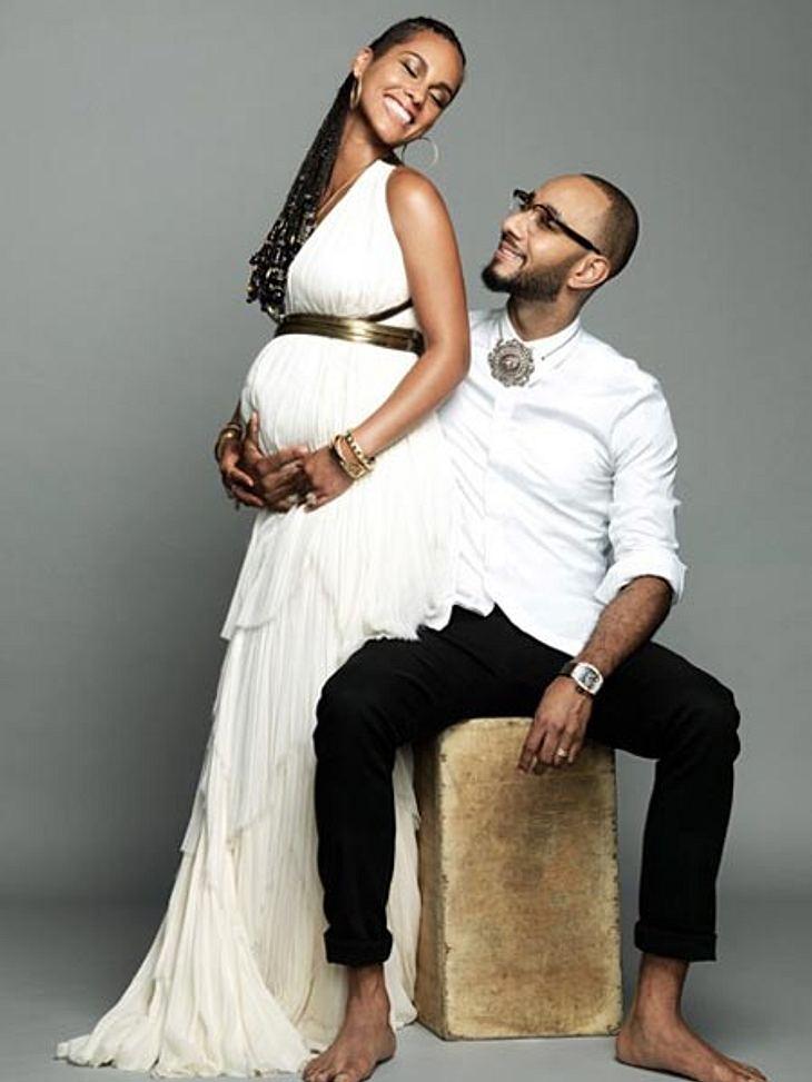 Alicia Keys und Ehemann Swizz Beatz