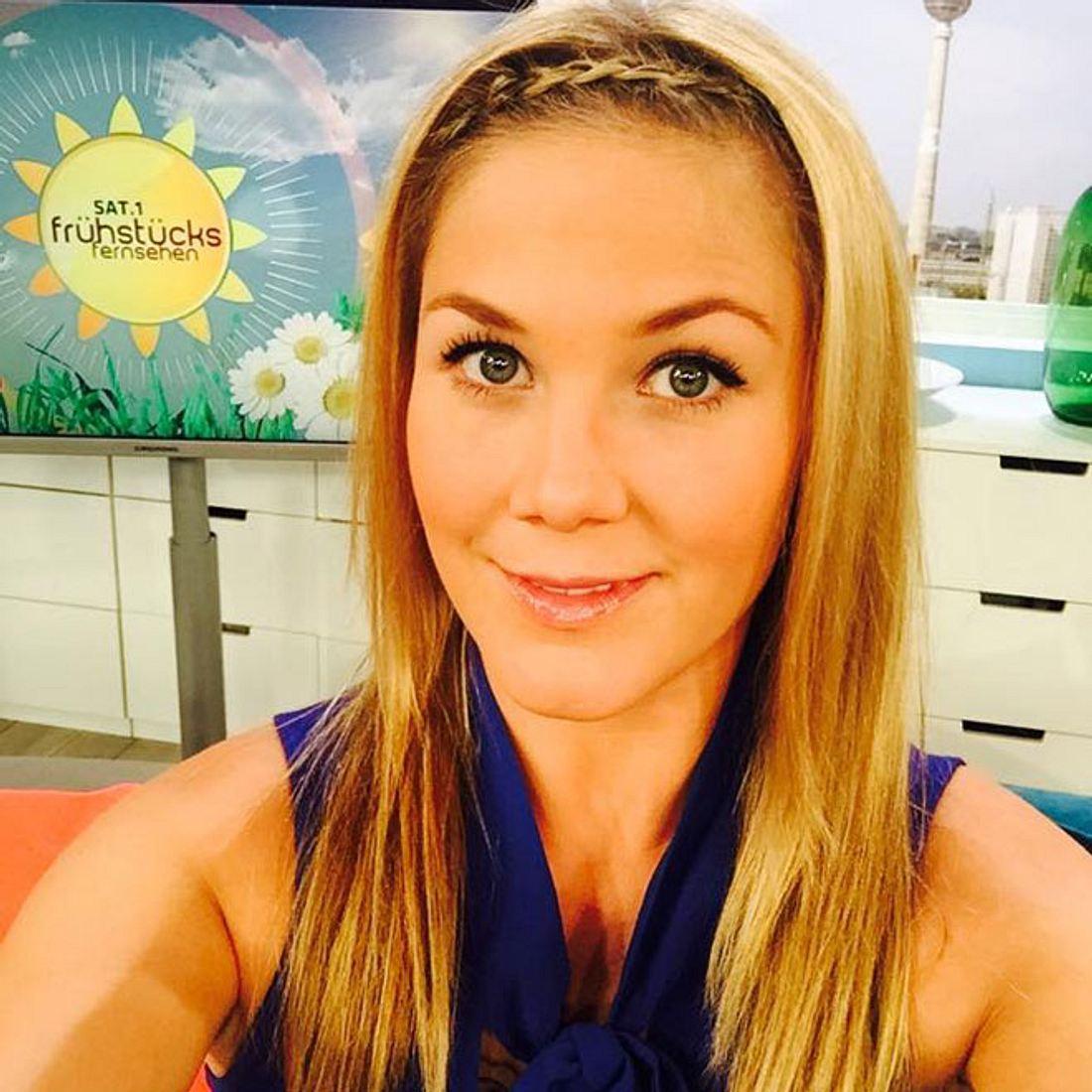 Moderatorin Alina Merkau: Ist sie wieder schwanger?
