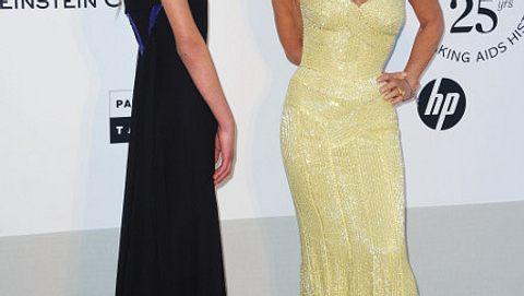 Allegra Versace mit ihrer Mutter Donatella - Foto: gettyimages