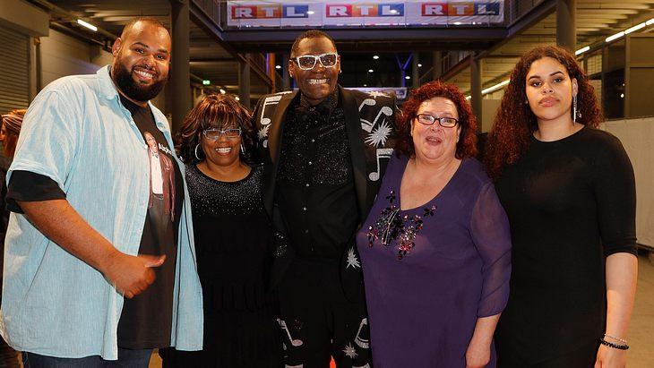 Alphonso Williams und seine Familie
