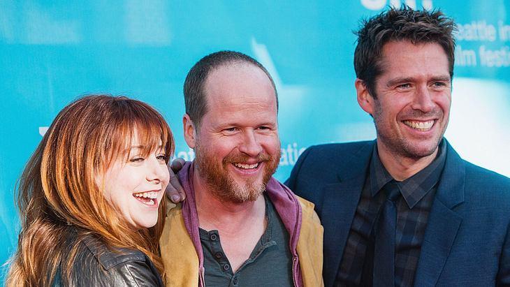 """Alyson Hannigan mit ihrem Ehemann und dem """"Buffy""""-Autor Joss Whedon"""