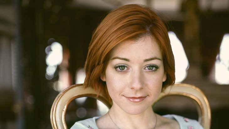 "Alyson Hannigan als Willow in ""Buffy"" 2000"