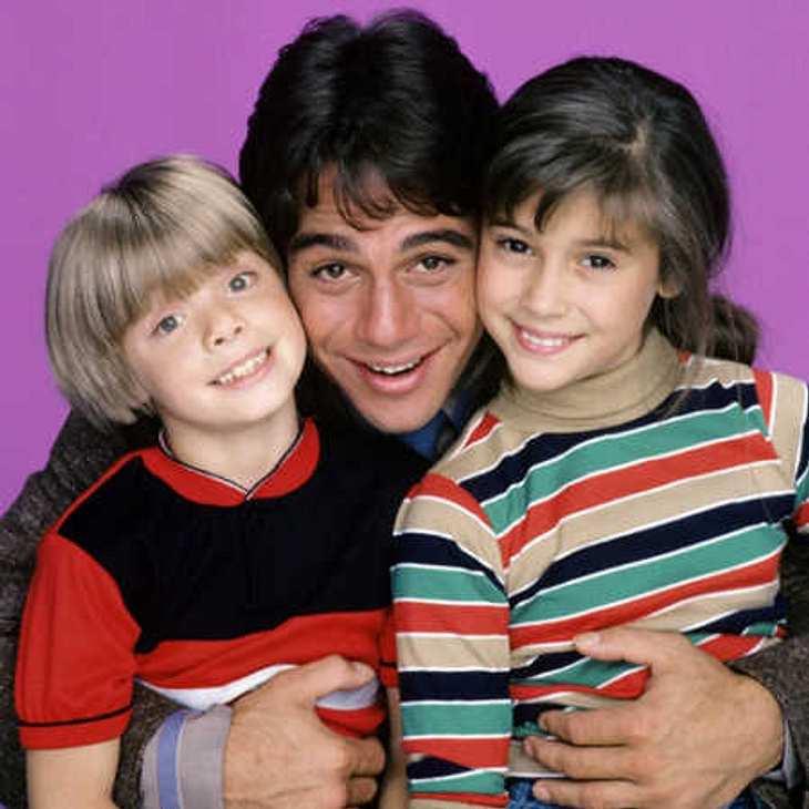 Tony Danza mit Alyssa Milano und seinem Serien-Sohn Jonathan