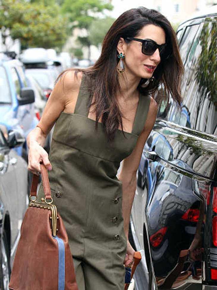 Amal Clooney: Völlig abgemagert durch den Stress?