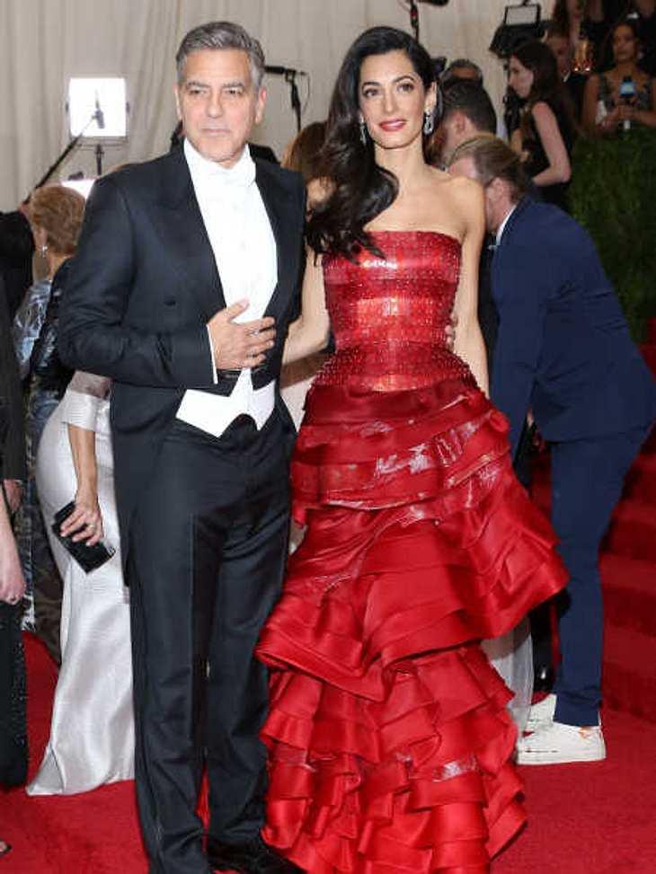 George Clooney sorgt sich um seine Amal