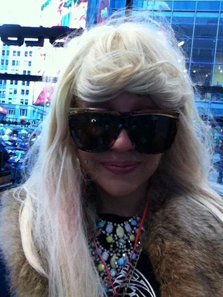 Amanda Bynes im Gangsta-Look.