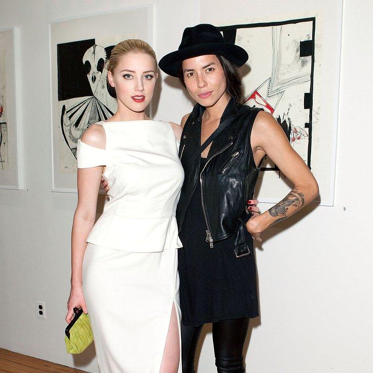 Geht Amber Heard zurück zu ihrer Ex?