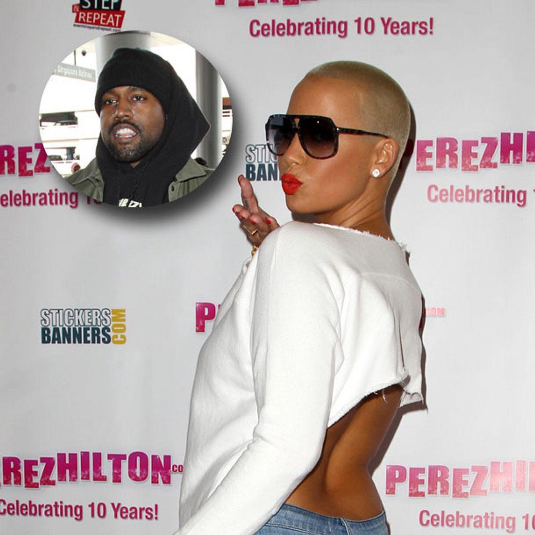 Amber Rose: Kanye West mag es von hinten