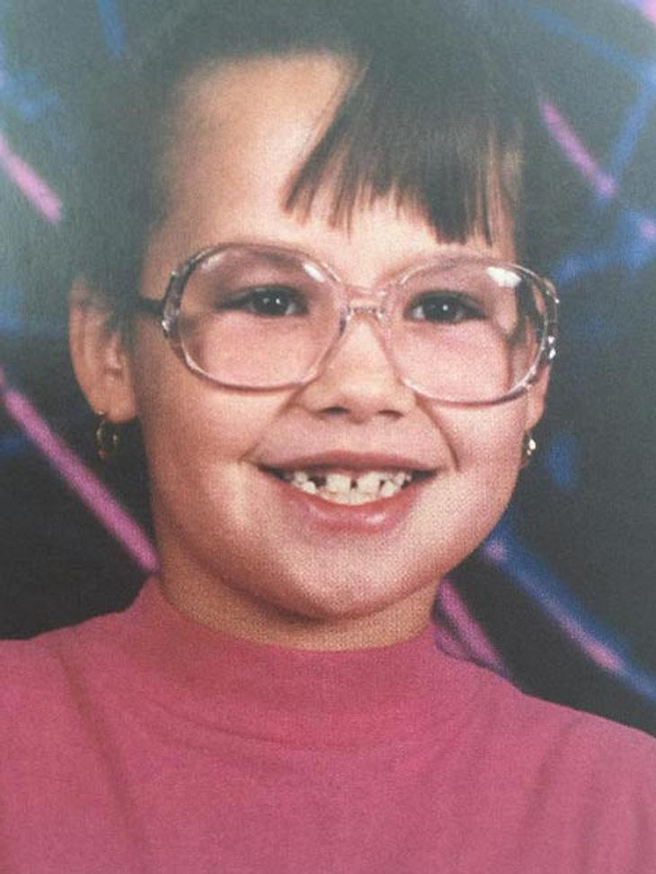 So sah Amber Rose als Kind aus
