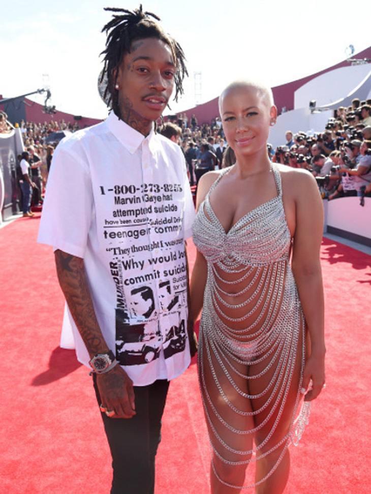 Amber Rose & Wiz Khalifa: Sind sie wieder ein Paar?