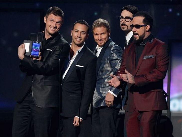 """""""American Music Awards 2012""""Die """"Backstreet Boys"""" waren bei den """"American Music Awards 2012"""" nach langer Zeit mal wieder komplett. Kevin gesellte sich wieder zu seinen Jungs."""