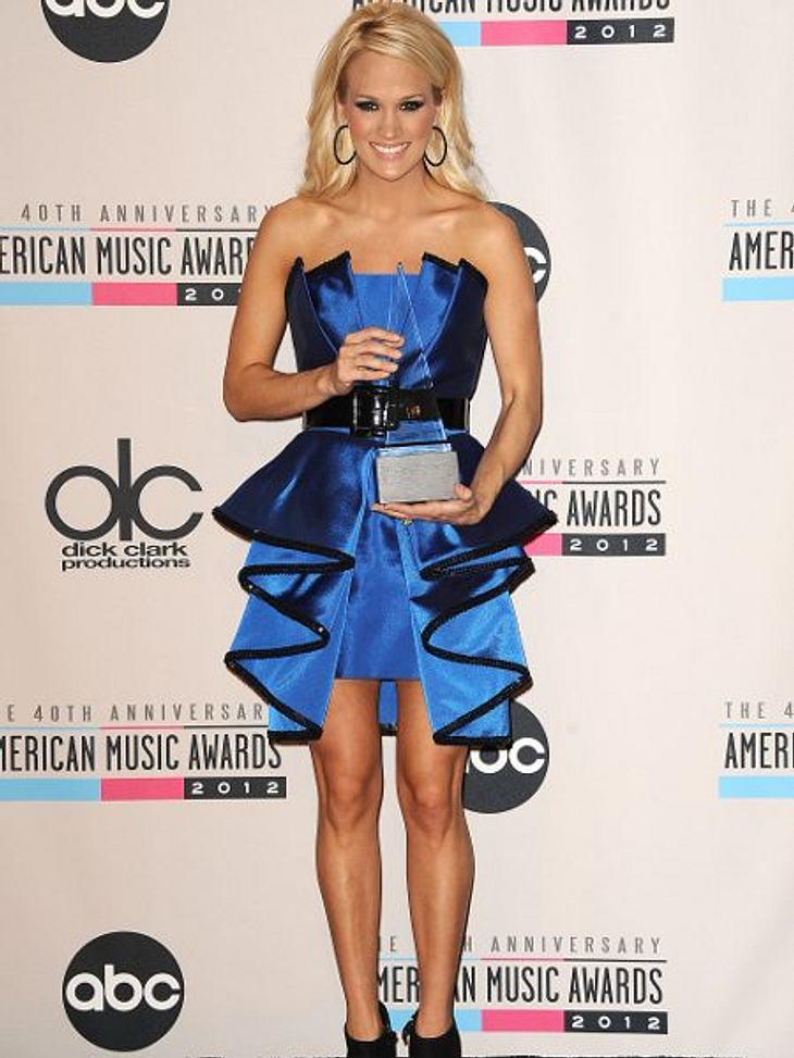 """""""American Music Awards 2012""""Carry Underwood bekam den Preis für das beste Country-Album."""