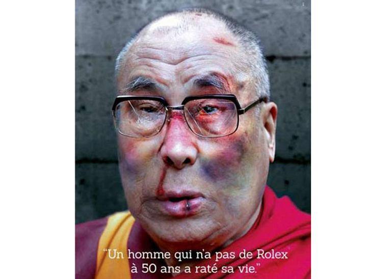 Prügel-Fotos vom Dalai Lama, Iggy Pop und Karl Lagerfeld