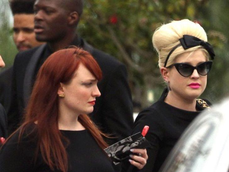 Kelly Osbourne war unter den Trauergästen bei Amy Winehouse' Beisetzung