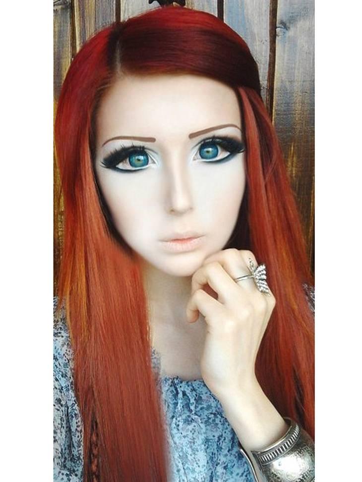Das fleischgewordene Manga-Mädchen: Anastasiya ShpaginaIhr Make-up ist so perfekt, dass Fotos oft wie Bilder aus einem Manga wirken.