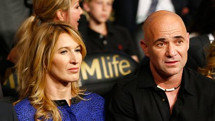 Steffi Graf & Andre Agassi - Foto: Getty Images