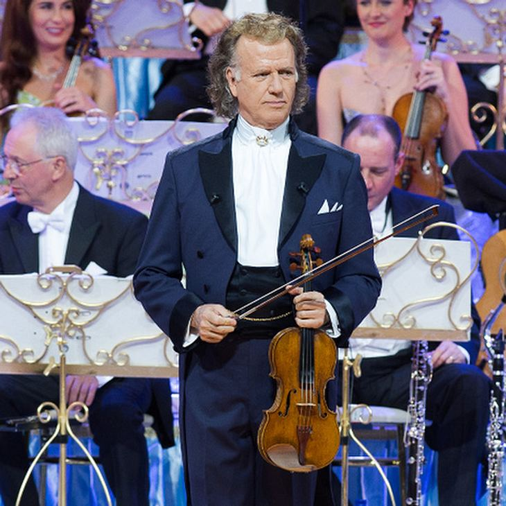 André Rieu in tiefer Trauer