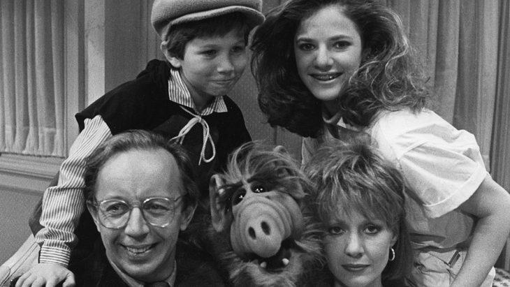 "Andrea Elson als Tochter Lynn Tanner in der Serie ""Alf"""