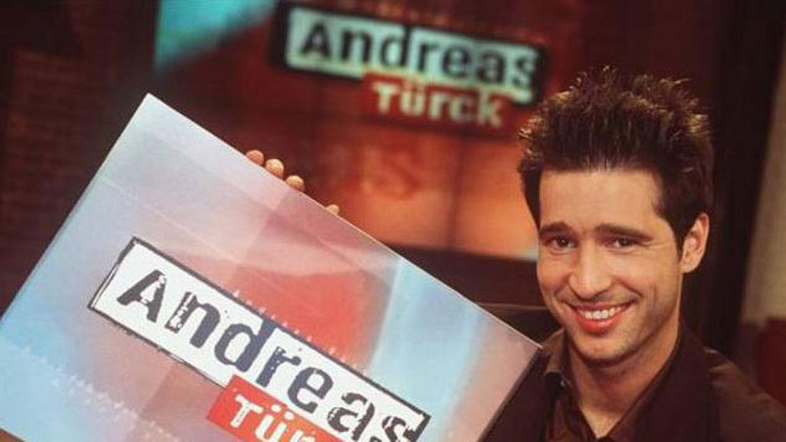 Talkshow-Moderator Andreas Türck in den 90ern
