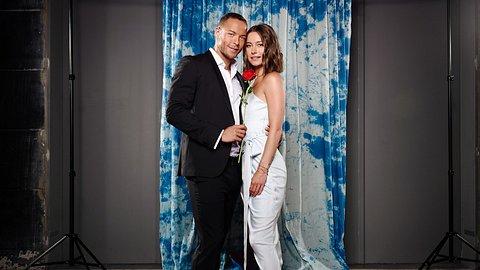 Andrej Mangold und Jennifer Lange - Foto: TVNOW / Stefan Gregorowius