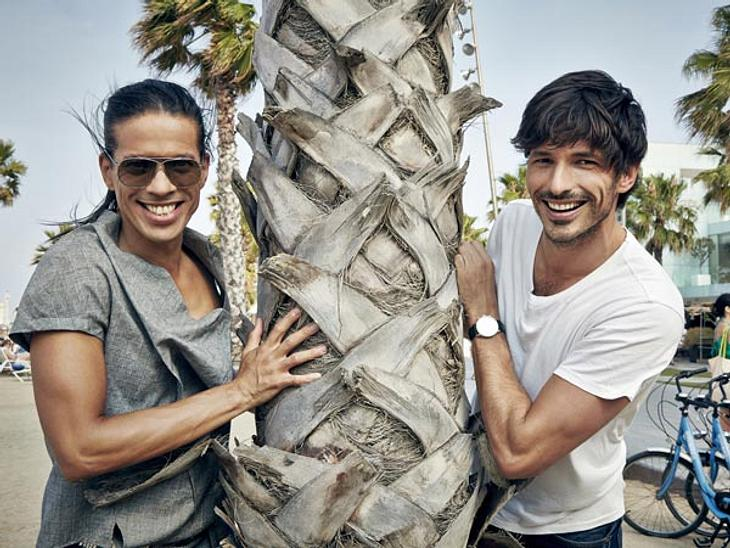 "Jorge Gonzalez und Andrés Velencoso in ""E! In the City"""