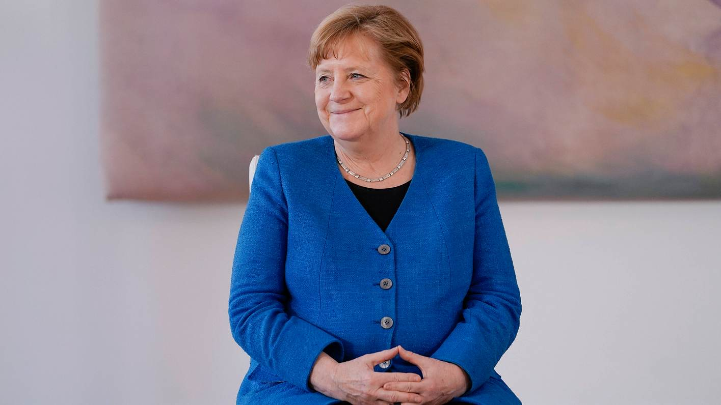 Angela Merkel blickt dem Ende ihrer Amtszeit entgegen