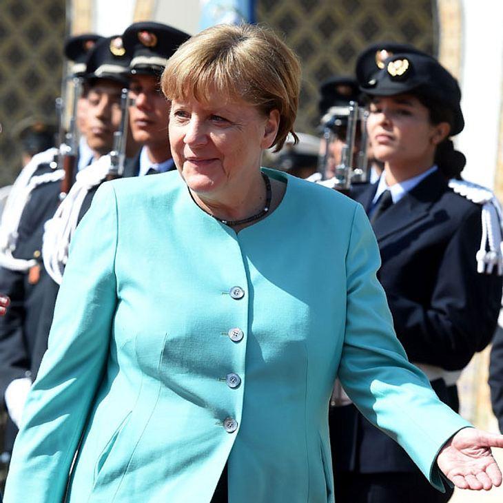 Angela Merkel: Baby-Glück!