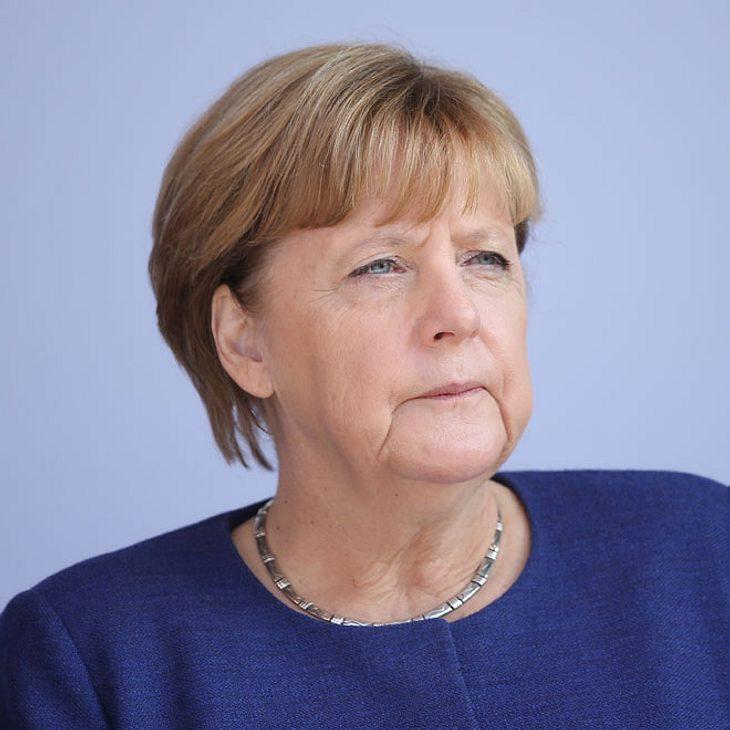 Ermittlungen nach mutmaßlichem Regenschirm-Angriff auf Merkel