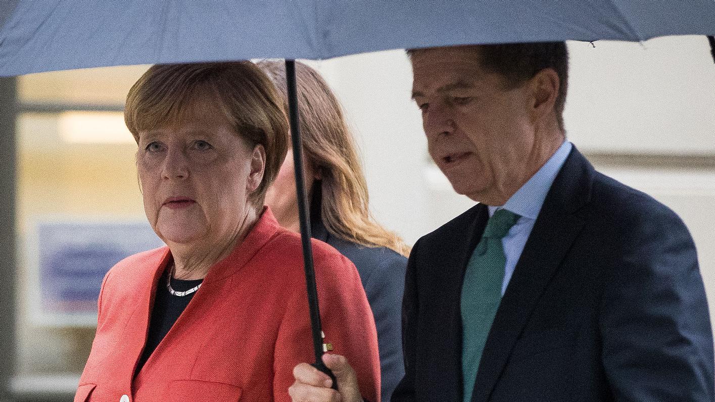 Angela Merkel und ihr Mann stehen kur vor der Trennung