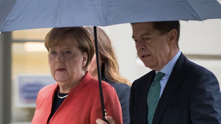 Angela Merkel und Joachim Sauer gehen vorerst getrennte Wege